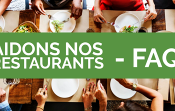FAQ Aidons Nos Restaurants