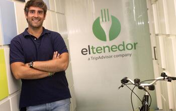 Marcos Alves, CEO de ElTenedor