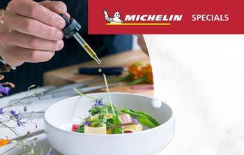 michelin specials restaurant dish