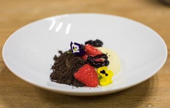 assiette-dessert-framboise-chocolat