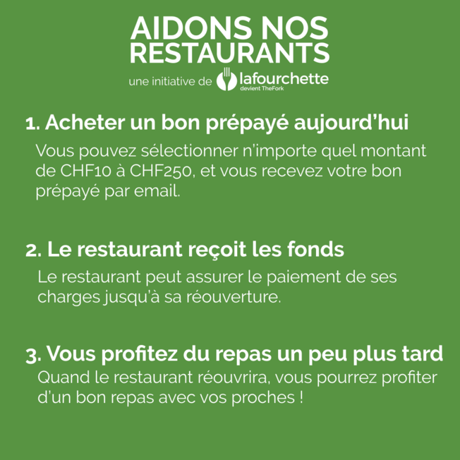 Aidons Nos Restaurants post feed 2