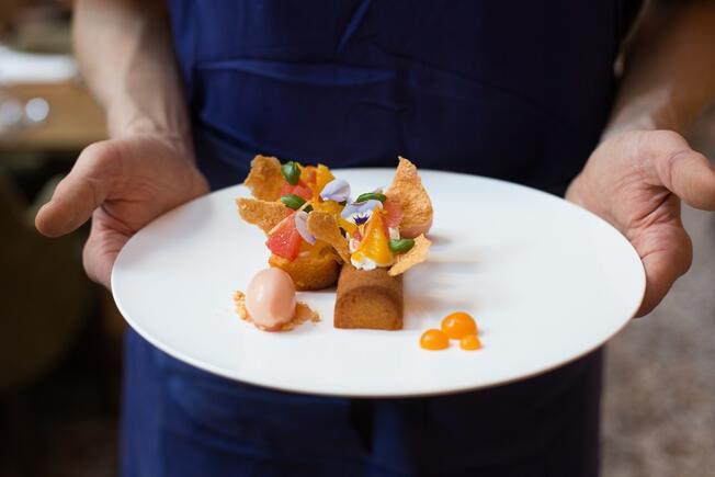 2021 food trend plate