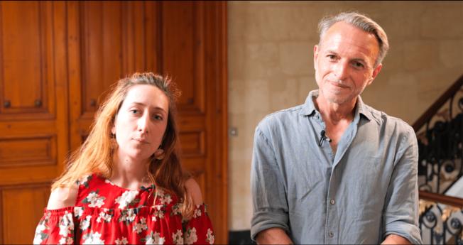 Les restaurateurs Camille Descan, L'Abeille Gourmande à Bordeaux, et Stéphane Vaillant, Les Vaillant à Bordeaux