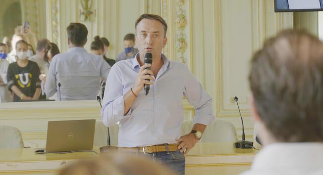 Christophe Chateau, directeur de la communication du CIVB