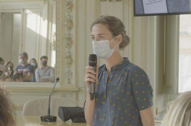 Élise Baron, cofondatrice du label FiG