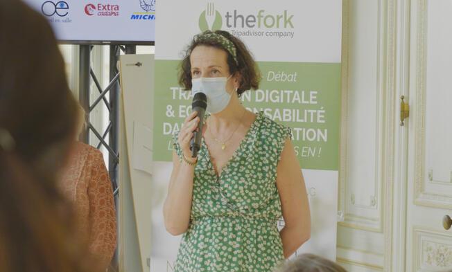 Sandrine Jacotot, adjointe au maire chargée des commerces, des marchés et des animations