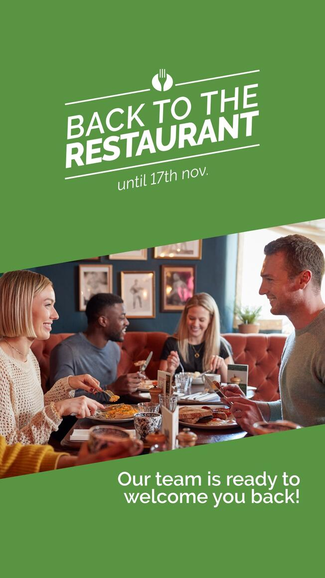 Back to the Restaurant story